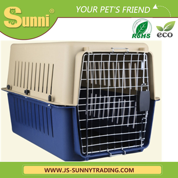 Fashion pet carrier plastic outdoor dog kennel designs