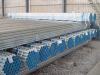 Hot dip galvanized ASTM A53 BS1387 ISO65
