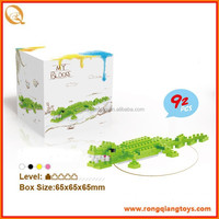 Educational toys DIY Nano blocks-The crocodile, diamond blocks 92pcs BK11168115