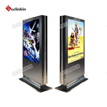 42inch double side screen HD LED panel Touch screen hotel lobby kiosk