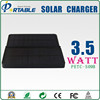 New Products Fashion Design 3.5W Solar Charger With Flashlight with LED Light