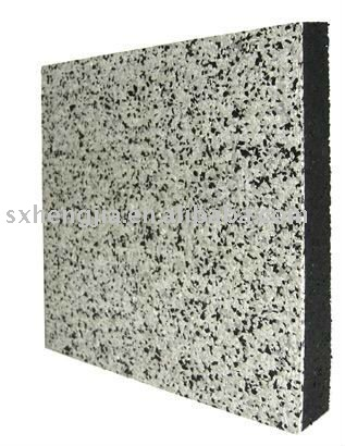 wall rubber tile
