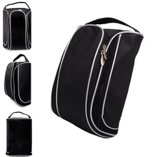 breathable travel package golf shoe bag large capacity nylon sport accessory bag carry case