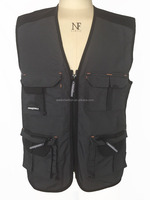 Mens combat 100% cotton Canvas multi-pocket vest
