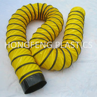 supply with CE certificate good quality and low price exhaust pvc round flexible duct