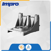 Large sized Supporting iron Bracket imported sand castings For High-horsepower rail transportation engines