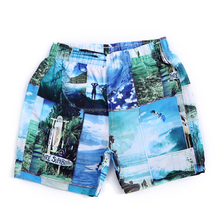 Have lining cloth printing beach leisure children's beach pants