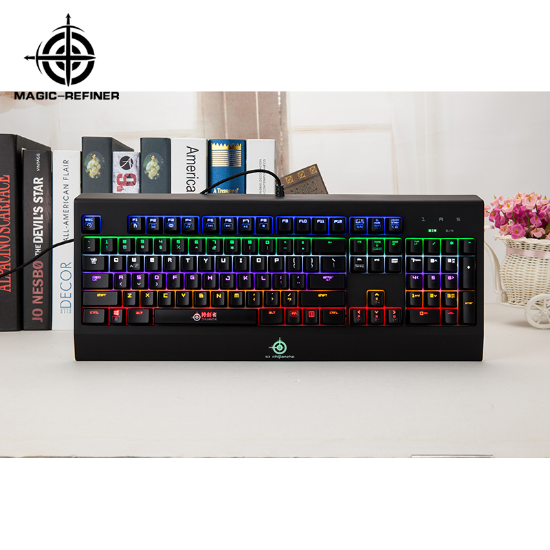 Fast Delivery computer gaming keyboard with backlit Manufacturer from China