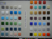 Normal glass mosaic with sand mosaic color chart different color low price mosaic