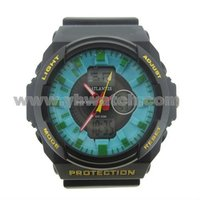 2012 New style digital watches unique man silicone sport watches