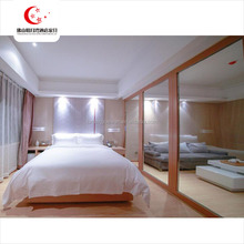 custom made design double bed malaysia rubber wood furniture wooden