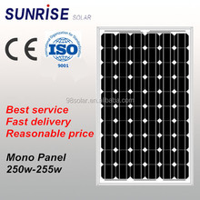Solar Energy System 250w photovoltaic solar panel
