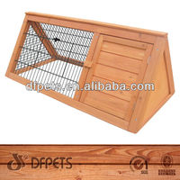 Outdoor Wooden Rabbit Home DFR047