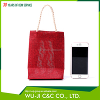 Fashionable polyester wedding gift bag