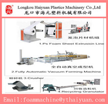 HAIYUAN fully automatic PS foam thermoforming container making machine