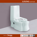 Ceramic bathroon siphonic strap one piece toilet