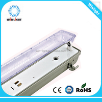 4ft 36w t8 IP65 single tube water proof light fitting with CE ROHS certificate