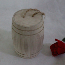 Round mouth wooden tea packing cans,coffee beans storage box