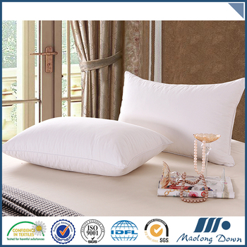 Factory directly provide soft feather hotel pillow