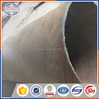 Thick Wall Spirally Weld Steel Pipe Manufacturing