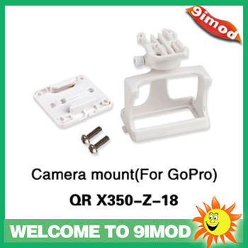 Walkera New Quadcopter QR X350 Spare Part QR X350-Z-18 Camera mount 2 for GOPRO
