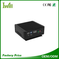 brand new desktop computer mini fanless computer support wifi