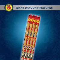Crackling Comets 5 Balls Chinese Cracker Fireworks For Christmas Cracker Wholesale Roman Candle Fireworks