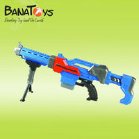 Batteries operated EVA soft bullet plastic toy guns