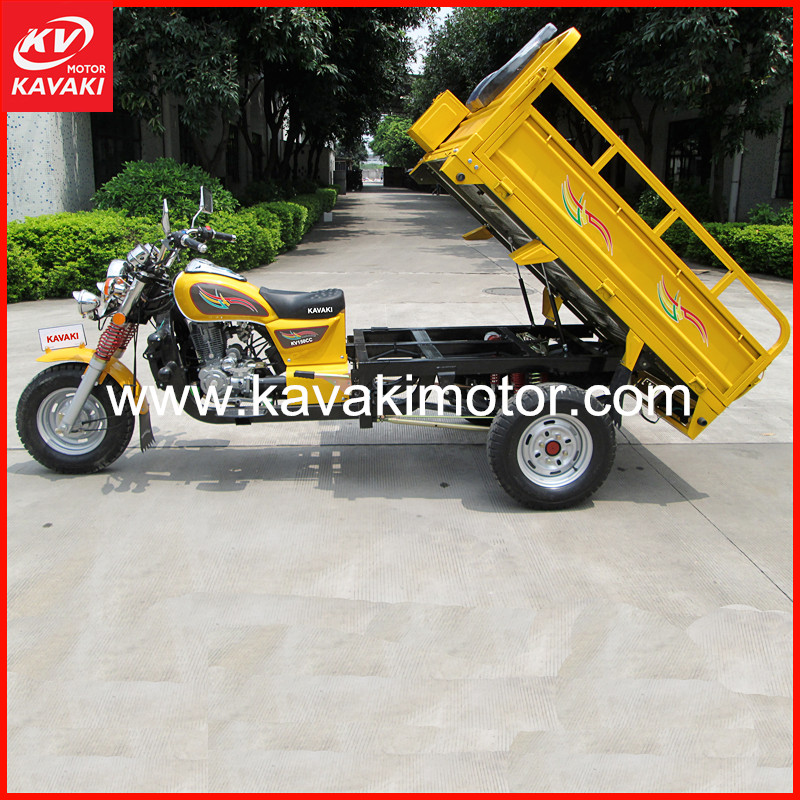 KV150ZH-A model 3 wheel electric bicycle bajaj three wheeler tricycle motorcycle low price