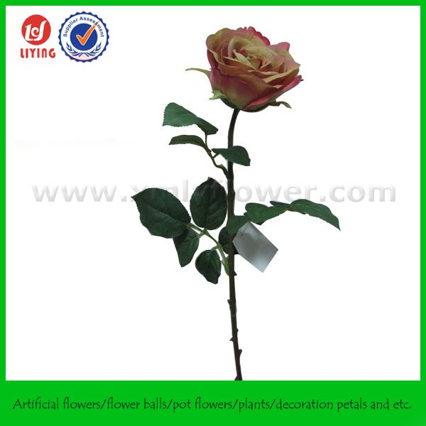 "27"" Interior Decor Single Rose for Hotel"