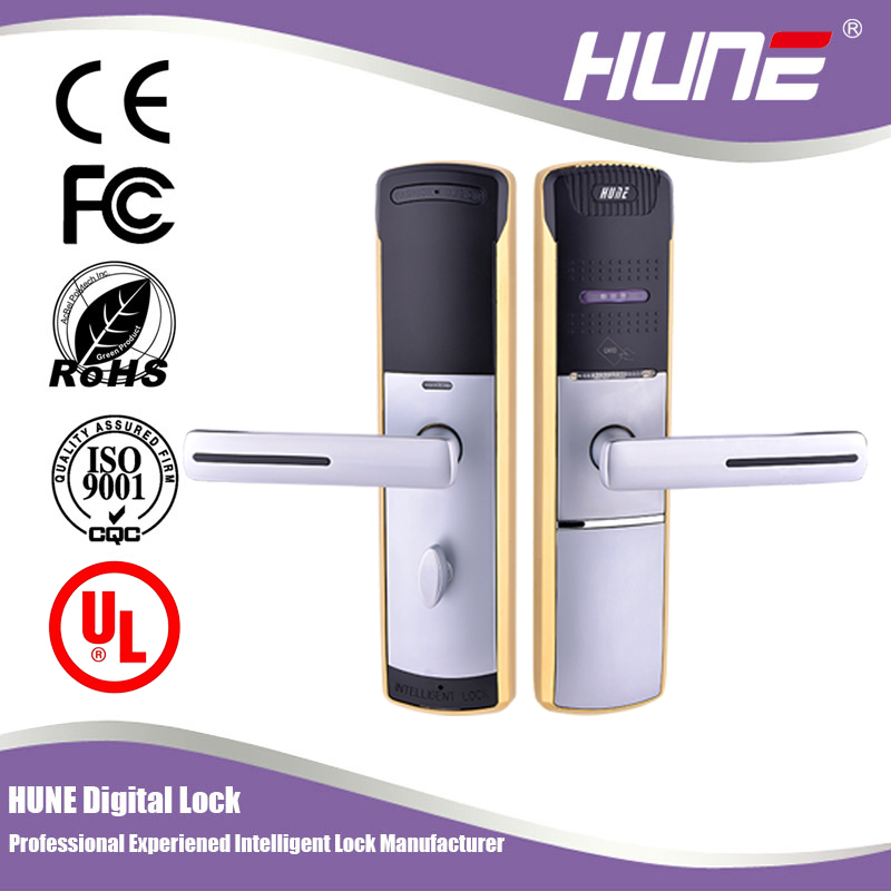 guangdong electronic card reader door lock with keyless entry system