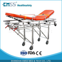 Euro 2 Emission Standard Aluminum Alloy Ambulance Stretcher