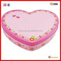 printed tin gift box/gift can wholesale made in china