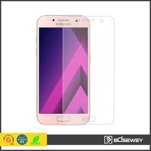 2017 New coming! 2.5D curvd edg screen protector 9h tempered glass for samsung Galaxy A3 2017 A5 A7 2017 Version cell phone