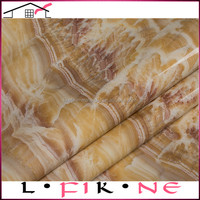 self adhesive pvc marble design wallpaper for spa decoration