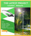 trade assurance 5M light pole 135lm/w 35W solar led street light factory