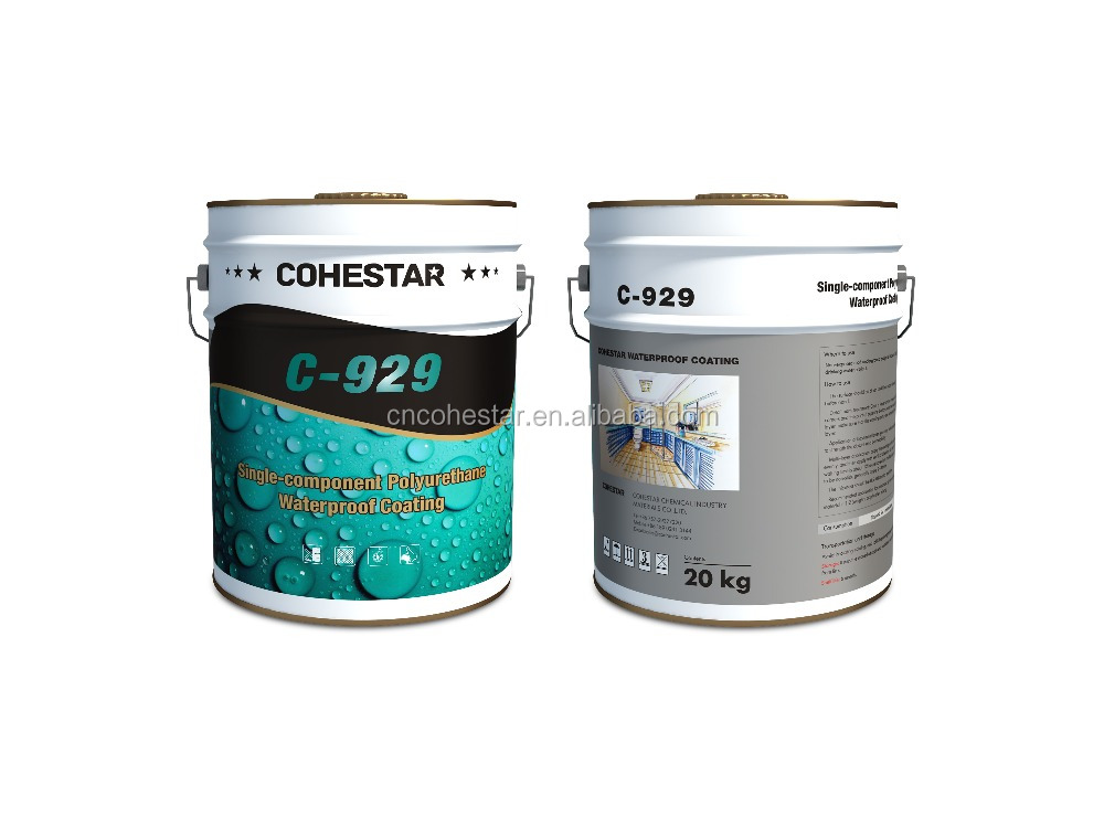Solvent Based Polyurethane Resin Waterproofing Coating