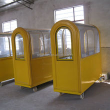 Customized Design Outdoor Fast Food mobile trolley JX-FC200