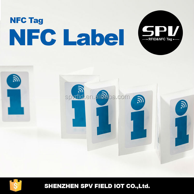 Passive Custom NFC Label China Manufacturer Cheap Ntag216 NFC Tags