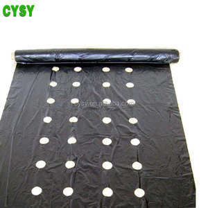 china agricultural black biodegradable plastic mulch film