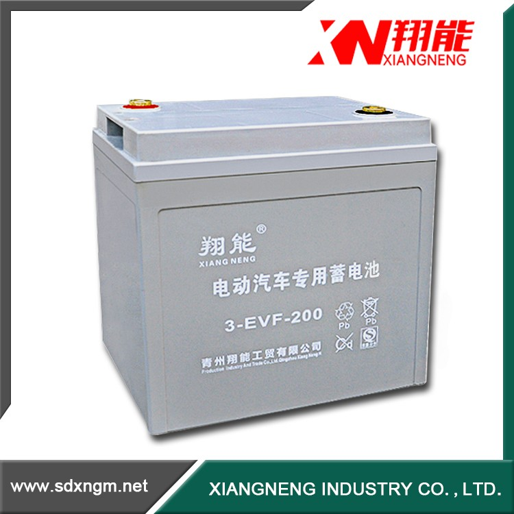 China manufacturing 12v 200ah deep cycle gel battery