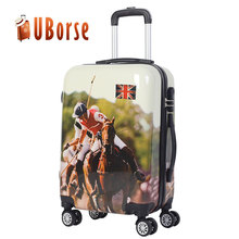 20 / 24 / 28 inch Guangzhou Sky Travelling Luggage set Aluminum Frame Trolley Suitcase