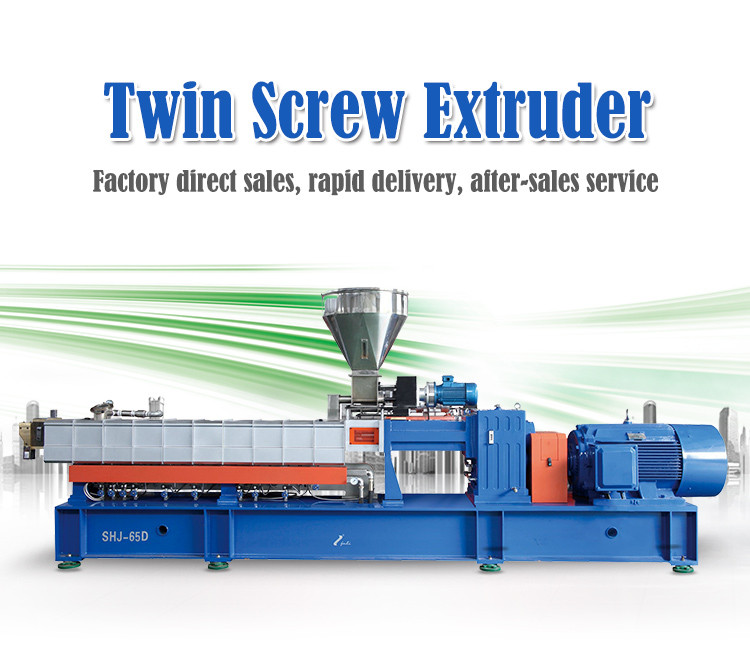 Pakistan Twin Screw Extruder Plastic Machine For Sale