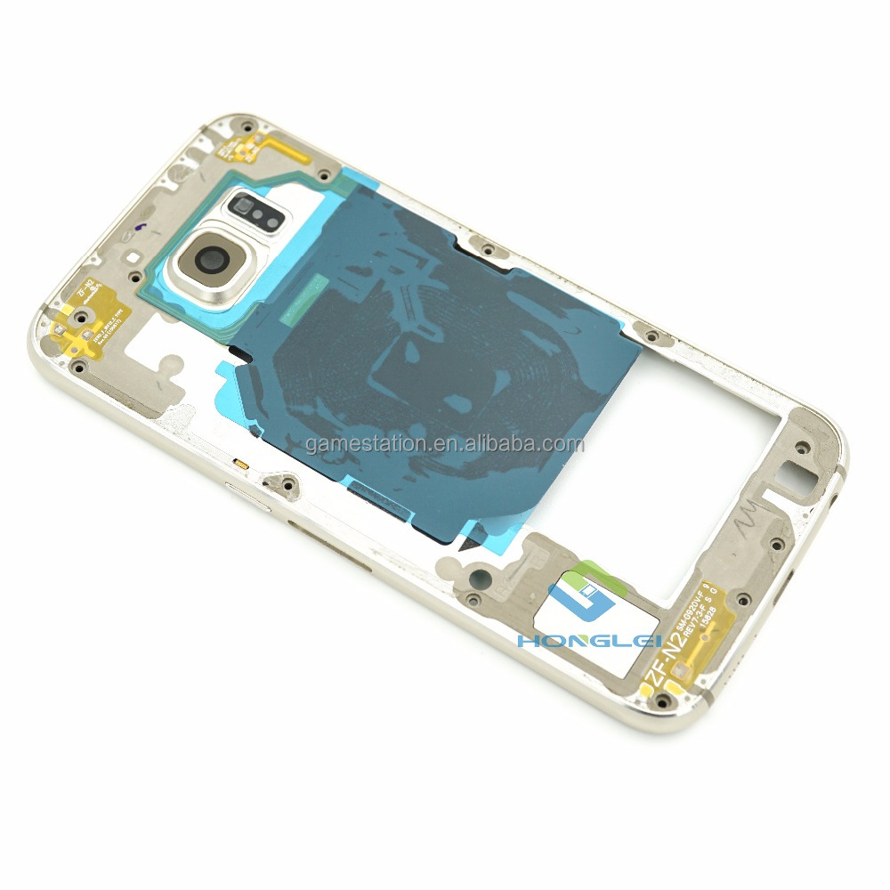 Hot sale Housing Parts for Samsung Galaxy S6 Middle Frame