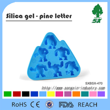Wholesale Custom Fancy FDA Personalized Silicone Ice Cube Tray&Custom Slicone Ice Tray