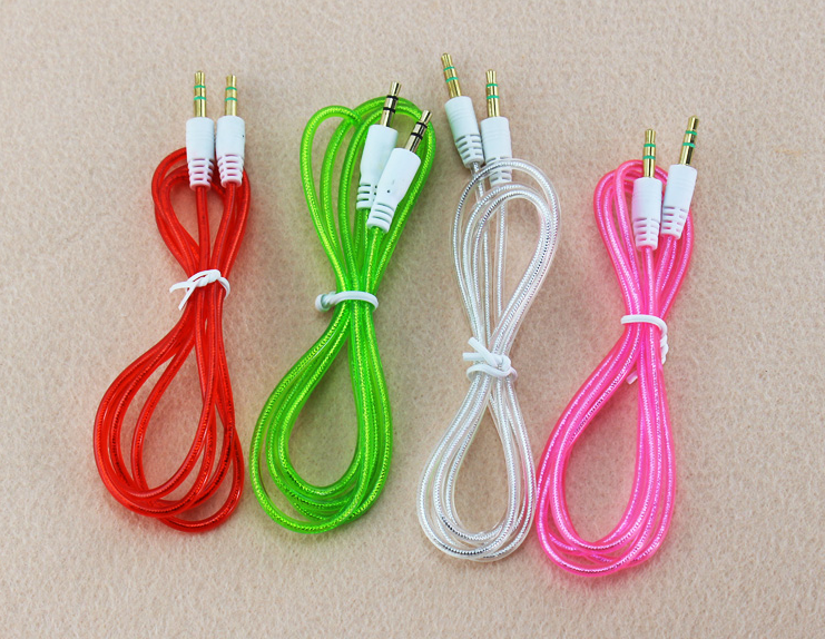 wholesale factory supply 8 pin color 3.5 mm audio video cable