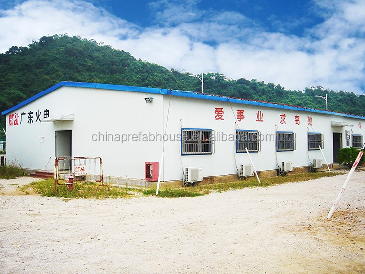 Fast house building with steel stable structure prefabricated t house