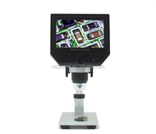 High quality Portable Led digital microscope 4.3 inch, portable operating microscope,