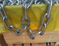 DIN766 China wholesale high quality professional cheap sale galvanized long link steel chain
