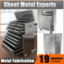 Quality Gauge Stainless Frame Rolling Toolbox workshop trolley